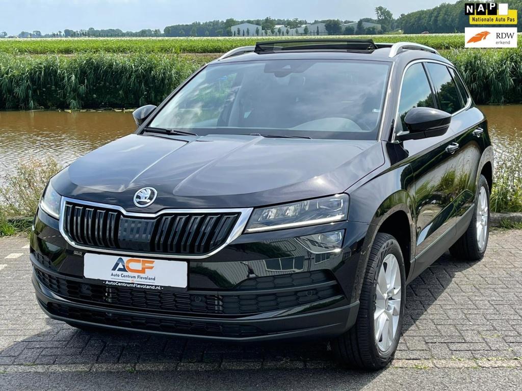 Škoda-Karoq 1.5 TSI ACT DSG Style PANO TREKHAAK NAVI 2x op voorraad